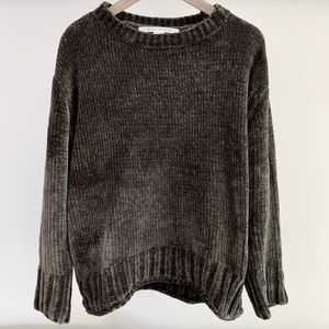 MAX STUDIO soft ribbed knit sweater size L